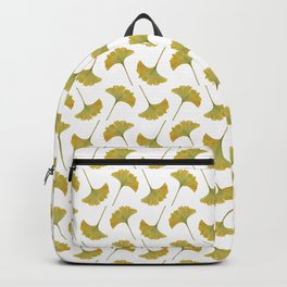watercolour ginkgo Backpack