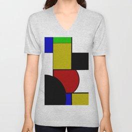 Geometric modern art 2 Unisex V-Neck