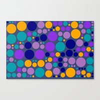 dots Canvas Prints featuring Dots by Aloke Design