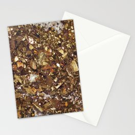 Champagne & Gold Stationery Cards