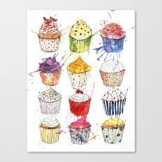 Cupcakes Galore! Canvas Print
