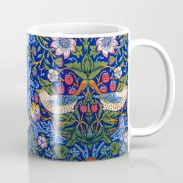 "William Morris ""Strawberry Thief"" 1. Coffee Mug"