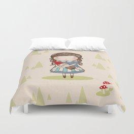 Gnome Girl Duvet Cover