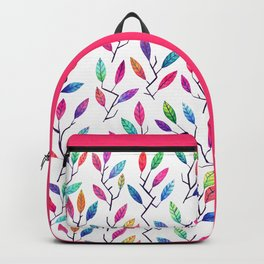 Leafy Twigs - Bright Backpack