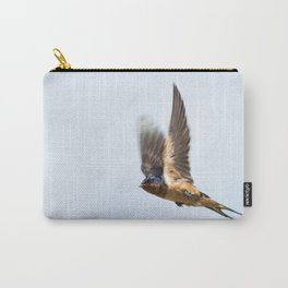 Male barn swallow in flight Carry-All Pouch