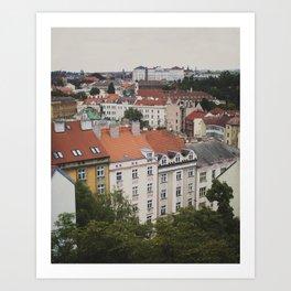 Views of Prague II Art Print