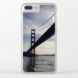 Golden Gate Bridge - City of San Francisco Clear iPhone Case