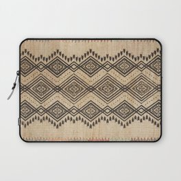N105 - Traditional Bohemian Oriental African Moroccan Style Design. Laptop Sleeve