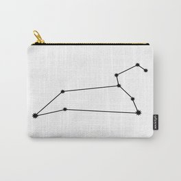 Leo Astrology Star Sign Minimal Carry-All Pouch