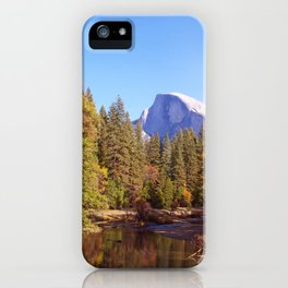 Merced River and Half Dome iPhone Case
