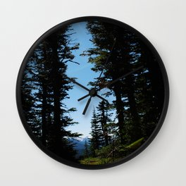 A path to a better place Wall Clock