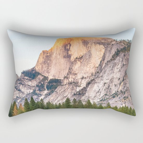 Other Side of the Mountain Rectangular Pillow