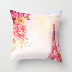 Ah Paris! Throw Pillow