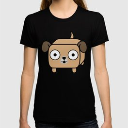 Pitbull Loaf - Fawn Pit Bull with Floppy Ears T-shirt