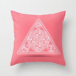 Fire Element Throw Pillow