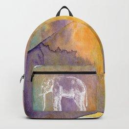 Color Spot Safari Elephant Backpack
