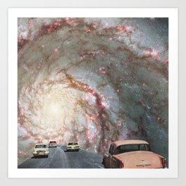 Supercool pink Art Print