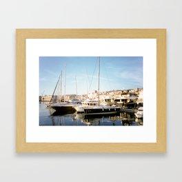 Postcard From Rijeka Framed Art Print