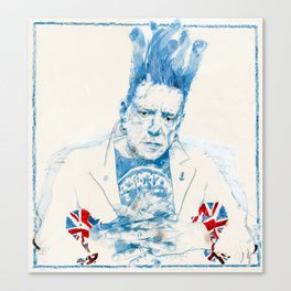 Johnny Rotten Canvas Print
