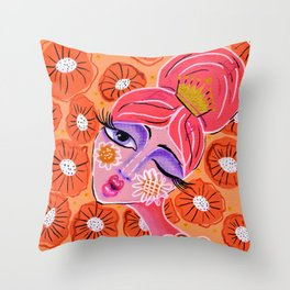 Poppy Throw Pillow