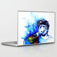 zayn Laptop & iPad Skins featuring Zayn #1 by dariemkova