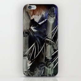 Bamboo Abstract in Encaustics iPhone Skin
