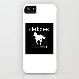 Deftone White Pony iPhone Case