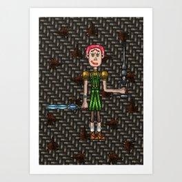 Crina Frankenstein Art Print
