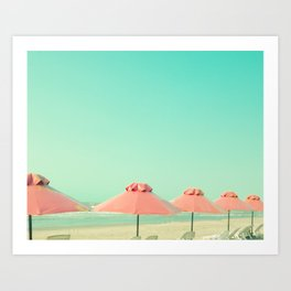 Cover Under Pink Art Print
