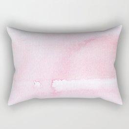 Pink watercolor // texture Rectangular Pillow