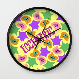 Eccentric Word Project Wall Clock