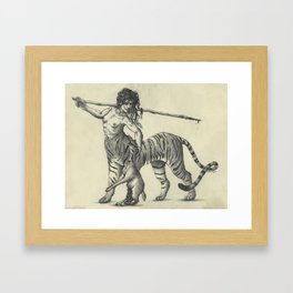 Tiger Centaur Framed Art Print