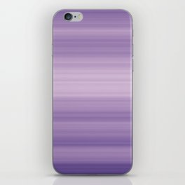 Pastel Ultra Violet Gradient Stripes Trendy Color of the year 2018 iPhone Skin