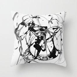 Light art Throw Pillow