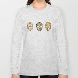 Fibreglass Masks 2 Long Sleeve T-shirt