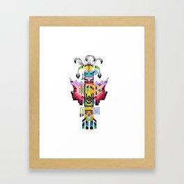 Kachina Butterfly 6 Framed Art Print