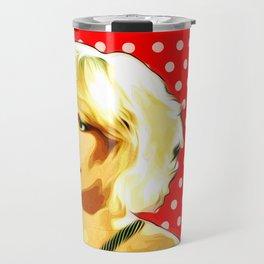 Blondie - Debbie Harry - Pop Art Travel Mug