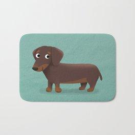Dachshund - Cute Dog Series Bath Mat