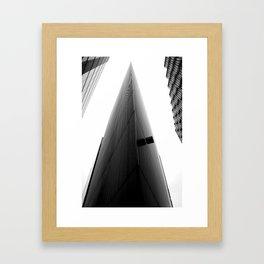 TRIANGOLAZIONE Framed Art Print
