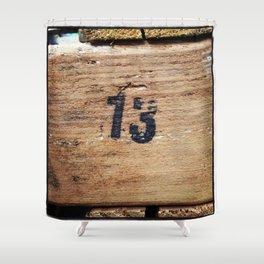 No. 13 Shower Curtain