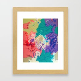 Flax Framed Art Print