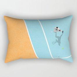 Tennis Court Colors  Rectangular Pillow