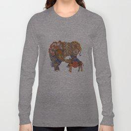 Sumatran Rhino Long Sleeve T-shirt