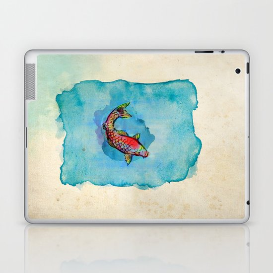 Small Fish. Small Pond. Laptop & iPad Skin