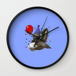 Grunt Birthday Party! Wall Clock
