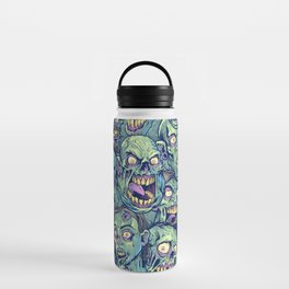 Zombie Repeatable Pattern Water Bottle