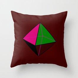 Octahedorn Throw Pillow