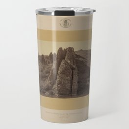Geological Exploration of the Fortieth Parallel (1869) - Devil's Slide, Utah Travel Mug
