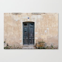 Old fashioned door Canvas Print