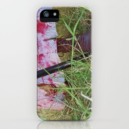 Regency Era Zombie Hunter iPhone Case